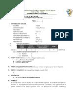 Silabo Virtual FISICA I Curso General