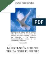 La revelación Debe De Ser Traida Desde El Pulpito.pdf