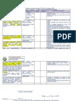 Instrumentos de planificación ROSITA (tercero)