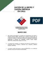 Situacion Micro Empresa Chile