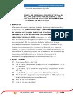"BASES DEL I CONCURSO DE DECLAMACIÓN POÉTICA VIRTUAL EN LENGUA CASTELLANA, QUECHUA E INGLÉS ALUSIVO AL LVI ANIVERSARIO DE LA INSTITUCIÓN EDUCATIVA SECUNDARIA ""SAN JERÓNIMO""DE ASILLO - 2020"