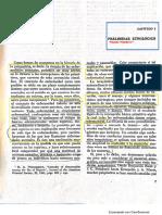Ackernecht Cap 1, 2,3 y 5, en Breve historia de la psiquiatría
