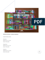 TALLER DE DISEÑO EDITORIAL Y MEDIOS IMPRESOS - Centro ADM