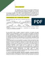 Desarrollo sostenible y sus clases en guatemala
