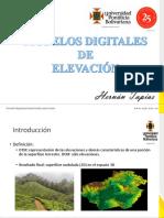 MODELOS DIGITALES DE ELEVACION