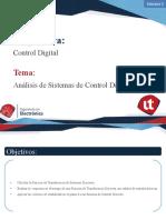 Presentación 5.2 - Análisis de Sistemas de Control Discretos