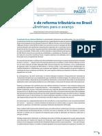 OP420PT a Necessidade de Reforma Tributaria No Brasil Diretrizes Para o Avanco