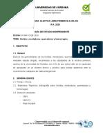 GUIA DE ESTUDIO HERIDAS, MORDEDURAS, QUEMADURAS Y HEMORRAGIAS