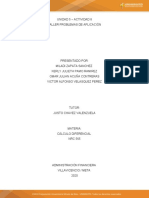 TALLER PROBLEMAS DE APLICACIÓN - Act 8