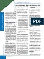PRESUNCION - DIFERENCIA DE INVENTARIO