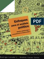 Losada y Casas (2008); Lo político, la ciencia y la ciencia política