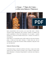 Churrasco Grego - 7 Tipos de Carne – Saiba tudo sobre esse famoso Churrasco