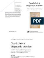 Good Clinical Diagnostic Practice 2005