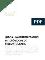 Hacia una interpretación mitológica del cine