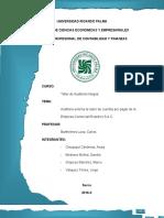Circularizacion de Cuentas por Pagar