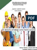 Legislacion laboral ACT 1 mapa conceptual