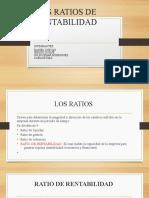 LOS RATIOS DE RENTABILIDAD......