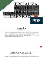 INDUCCION A COMERCIALIZADORA DE PRODUTOS CARNICOS