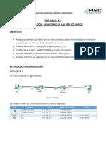 Practica 3_ Administración y monitoreo de una red de datos