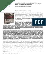 ART Crítica Al Libro La Historia de La Corrupción- VA García Belaunde