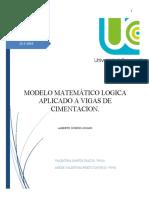 Modelo matematico logica word