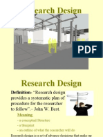 Presentation on Research Design