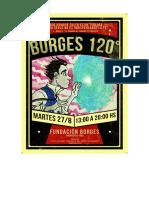 Jornadas Borges 120 - Programa
