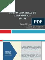 Diseño universal de aprendizaje capacitación