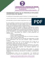 Diagnóstico Clínico de Las Principales Patologías Locomotoras Del Equino