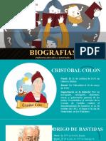 Biografias personajes de la Historia