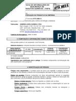 FISPQ ATAMEX FORMICIDA