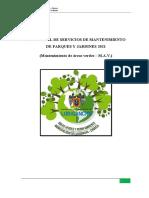 PLAN ANUAL DE SERVICIOS DE PARQUES Y JARDINES PÚBLICOS (1)