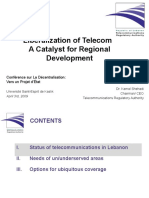 20090403_Liberalization of Telecom a Catalyst for Regional Development.pptx