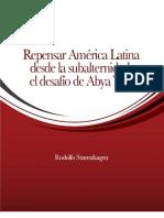 Repensar América Latina desde la subalternidad 2010
