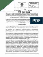 DECRETO 1154 DEL 20 DE AGOSTO DE 2020