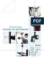 [Apostila] 7 dicas para testes de materiais - Instron