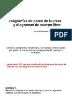 Diagramas de Pares de Fuerzas y Diagramas De