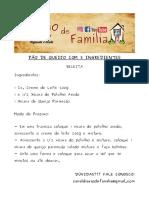 PÃO DE QUEIJO COM 3 INGREDIENTES