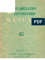 Lime stabilization Manual