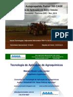 Tecnologia de Aplicação de Agroquímicos e Adjuvantes