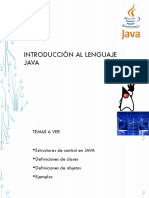 Ejemplos-Introduccion al lenguaje Java y Poo