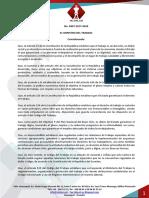 Reglamento que regula las relaciones de Trabajo especial en el sector agropecuario