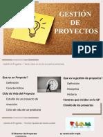 clase 3 GP ITP  Direccion de Proyectos