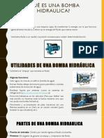 Introduccion y funcionamiento de las bombas hidraulicas