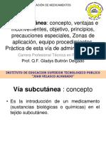 2020-08-07 Técnicas de Administra Medicamentos - Vías parenteral - subcutáneo