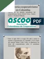 HISTORIA DEL COOPERATIVISMO EN COLOMBIA