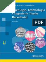 4taHistología, Embriología e Ingeniería Tisular Bucodental-Medica Panamericana (2019)