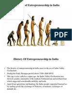 evolutionofentrepreneurshipinindia-160314053656