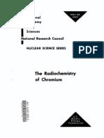 The Radio Chemistry of Chromium.us AEC