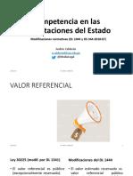 Competencia en Contrataciones del Estado - Andrés Calderón